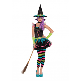 Neon Witch - Teen Costume