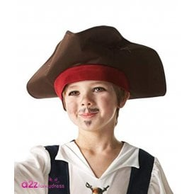 ~ (On Stranger Tides) Captain Jack Sparrow Hat - Kids Accessory
