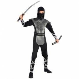 Howling Wolf Ninja - Kids Costume