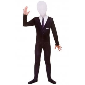 Slenderman Skinz - Kids Costume