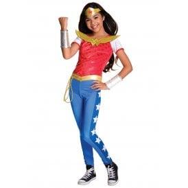 ~ Wonder Woman Deluxe (DC Comics Superhero) - Kids Costume