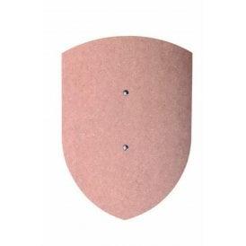 Small Curved Shield (Uncoloured) - Accessory