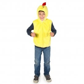Chicken Zip Top - Kids Costume