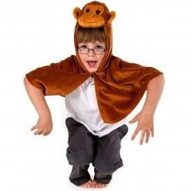 Monkey Cape - Kids Costume