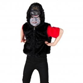 Gorilla Zip Top - Kids Costume