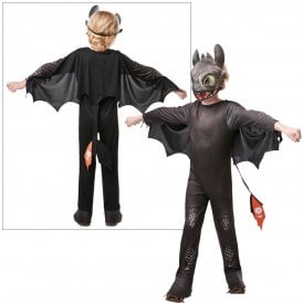 ~ Hidden World ~ Toothless - Kids Costume