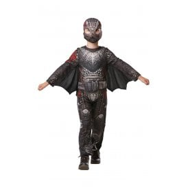 ~ Hidden World ~ Deluxe Hiccup Battlesuit - Kids Costume
