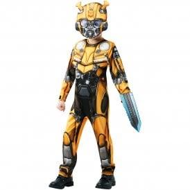 Transformers 6 - Bumblebee Deluxe - Kids Costume