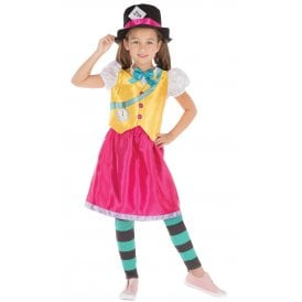 Mad Hatter Girl - Kids Costume