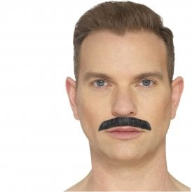 Iconic Rock Star Moustache (Black) - Adult Accessory