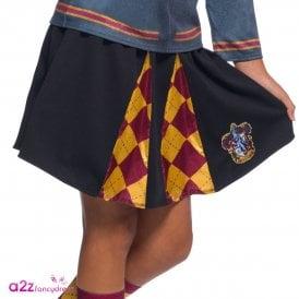 ~ Hermione Granger Gryffindor Uniform Skirt - Kids Accessory