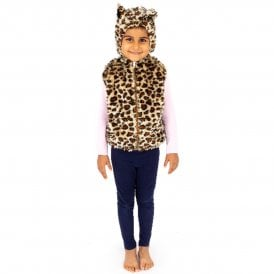 Leopard Zip Top - Kids Costume