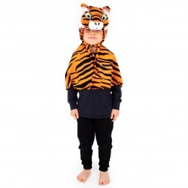 Tiger Cape - Kids Costume