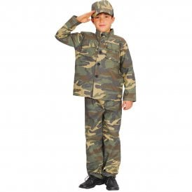 Action Commando - Kids Costume