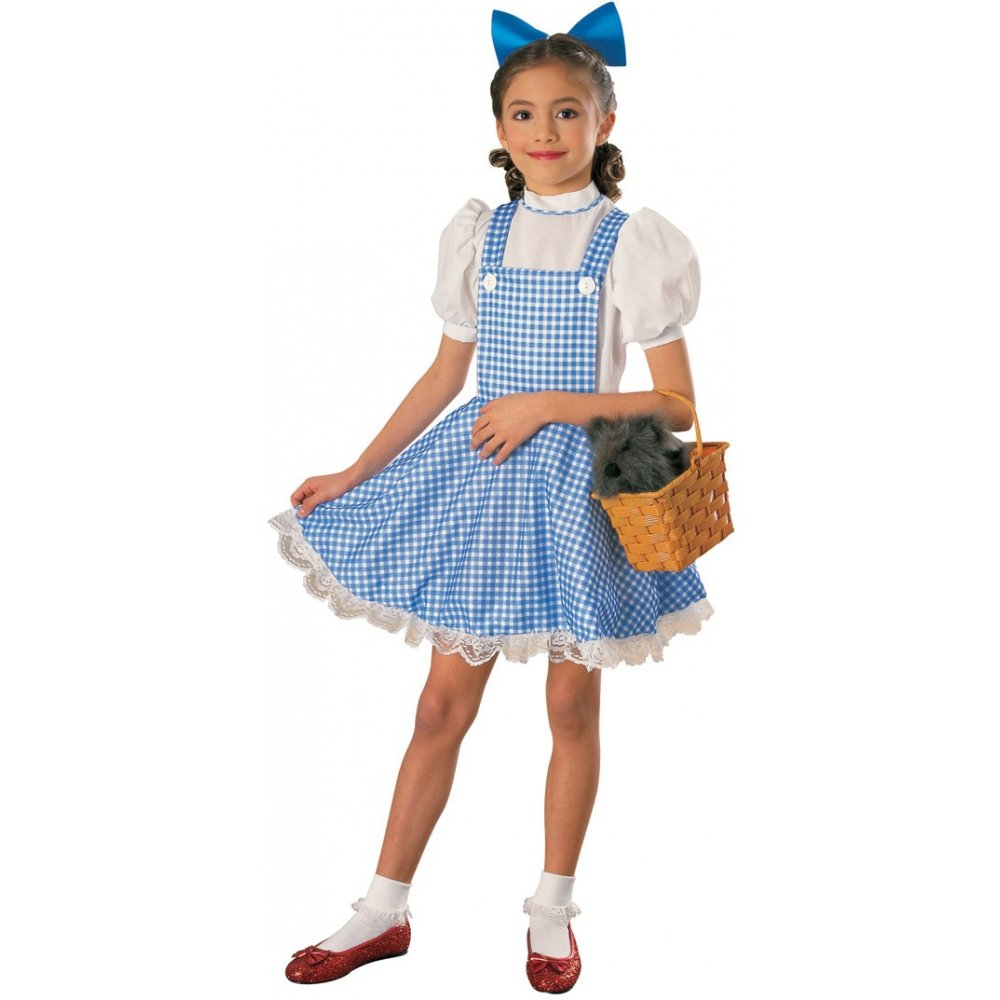 KIDS WIZARD OF OZ BOOK DAY LICENSED CHARACTER CHILD FANCY DRESS ...