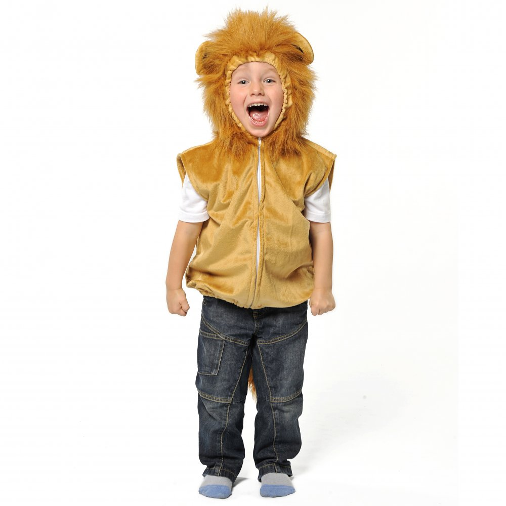 KIDS CHILDS LION ANIMAL KING OF THE JUNGLE BOOK DAY FANCY DRESS ...