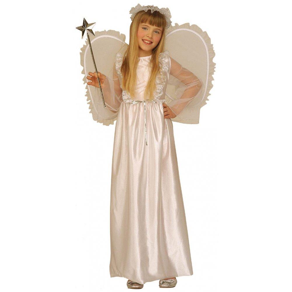 Kids angel boys girls nativity play christmas fancy dress