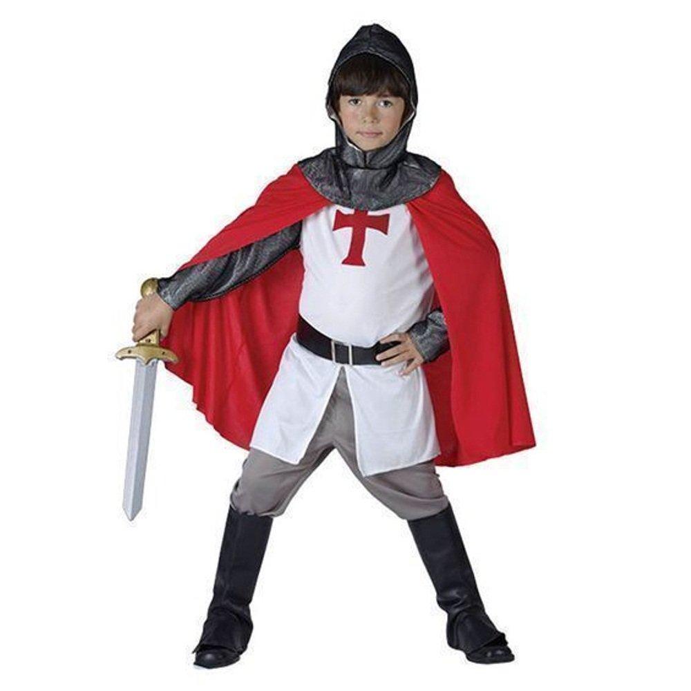 CRUSADER KNIGHT RICHARD THE LIONHEART MEDIEVAL KIDS ADULT - Adult Kid Costume