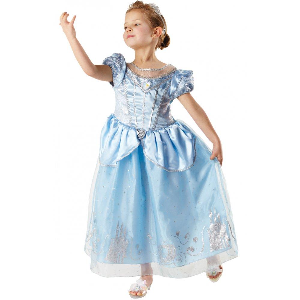 Disney Store Cinderella Light Up Costume Fancy Dress: GIRLS CINDERELLA CHILD LICENSED DISNEY PRINCESS BOOK WEEK