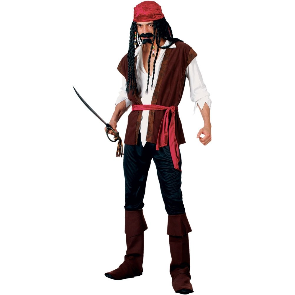 Ladies Pirate Jacket Buccaneer Caribbean Shipmate Captain Fancy Dress UK 8-18