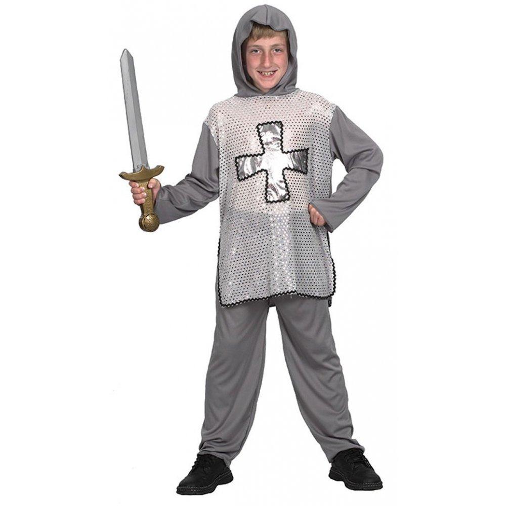 BOYS MEDIEVAL TUDOR KNIGHT CHILDRENS FANCY DRESS KIDS COSTUME eBay