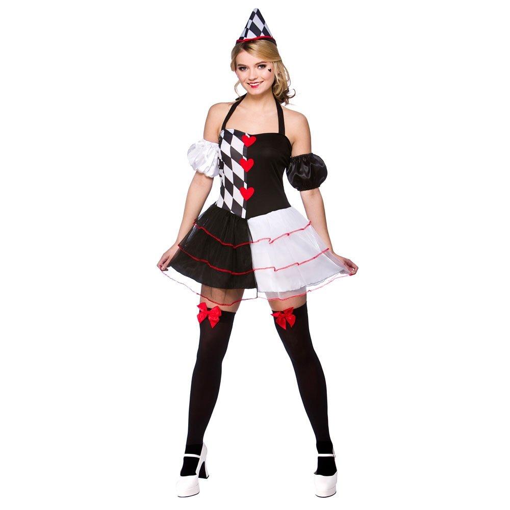 Cute queen of hearts alice in wonderland halloween fancy dress costume