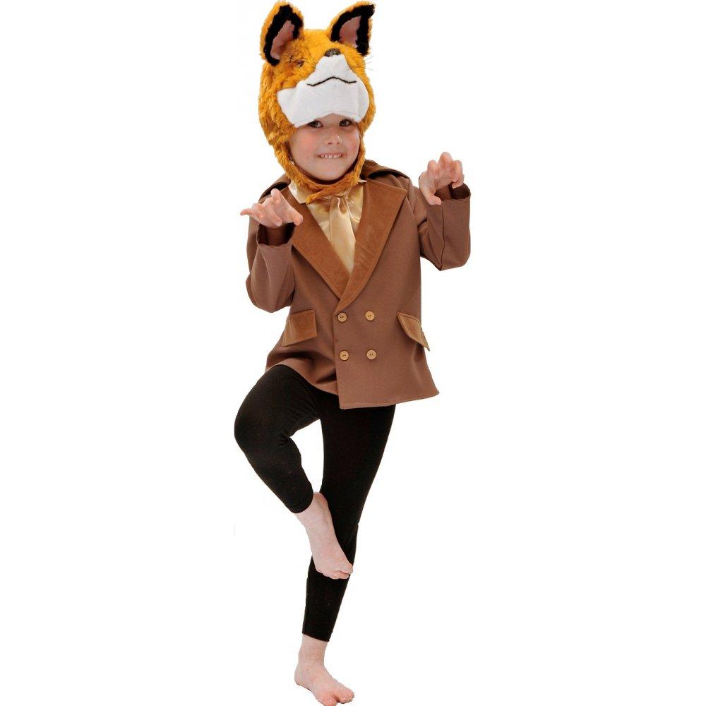 Boys Girls Fantastic Furry Fox Book Day Week Animal Fancy Dress Costume Outfit