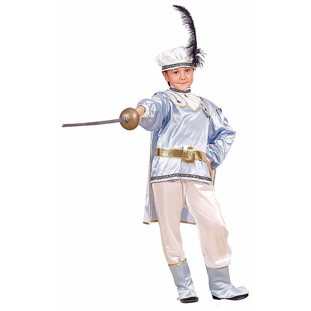Prince charming medieval rich tudor boy romeo kids fancy dress costume
