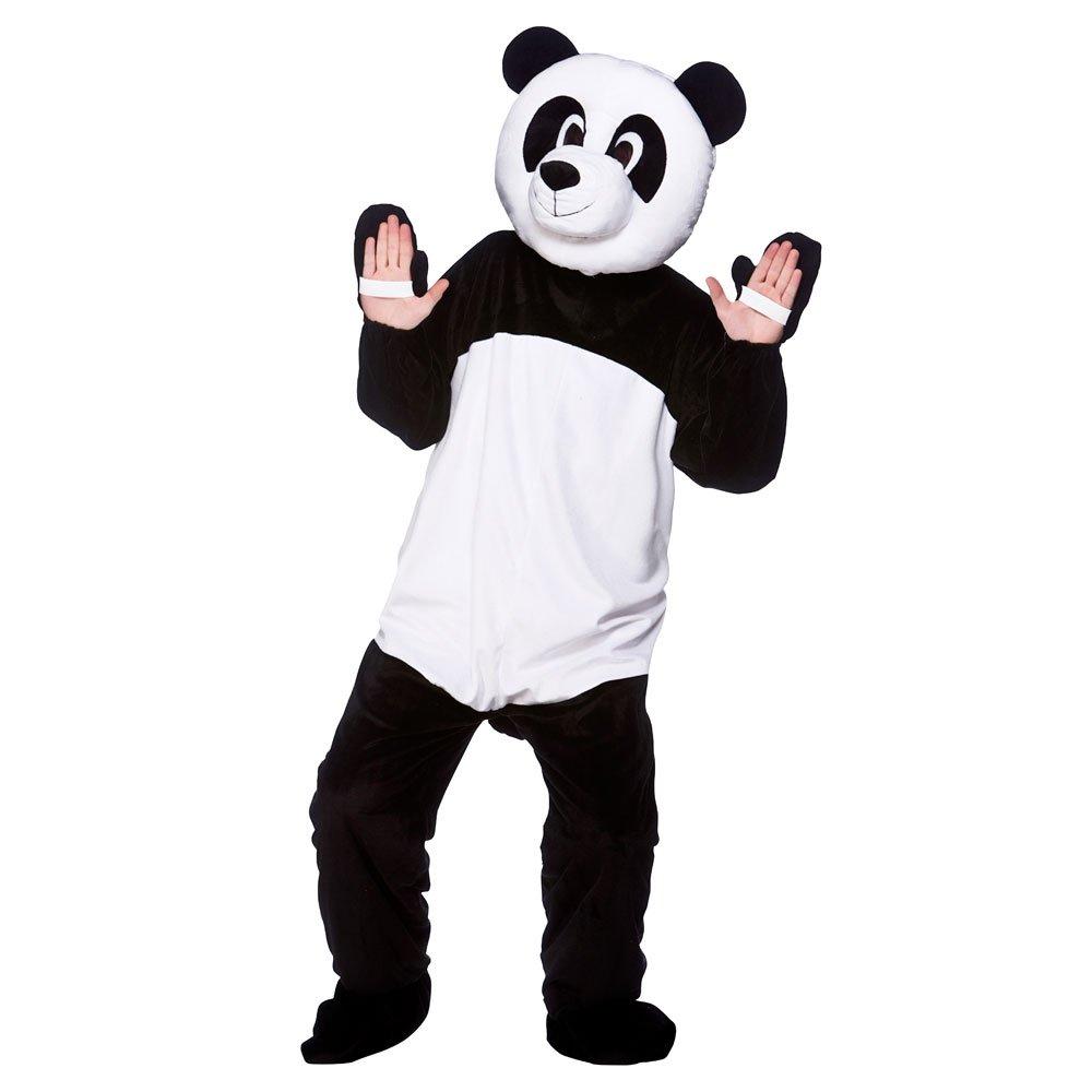 ADULT UNISEX DELUXE BIG HEAD ANIMAL ZOO WILD MASCOT FANCY ... panda bear head costume ...  sc 1 st  Superstarfloraluk.com & Images of Panda Bear Head Costume - #SpaceHero