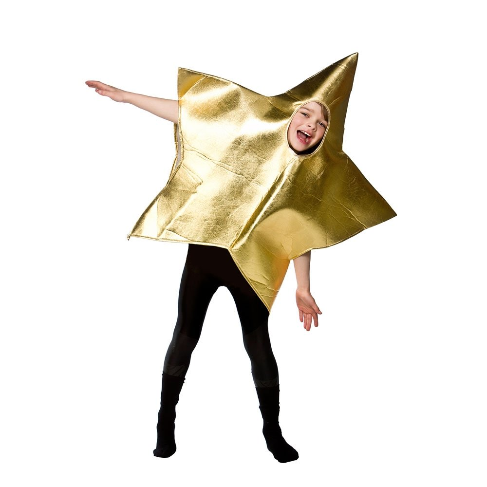KIDS-STAR-NATIVITY-GOLD-SILVER-SHINING-CHRISTMAS-FANCY-  sc 1 st  eBay & KIDS STAR NATIVITY GOLD SILVER SHINING CHRISTMAS FANCY DRESS COSTUME ...