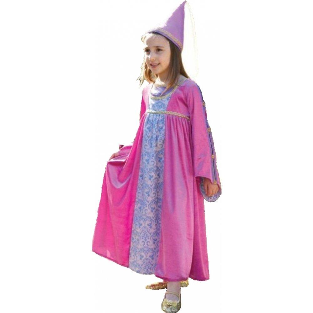 renaissance princess with hat kids tudor medieval