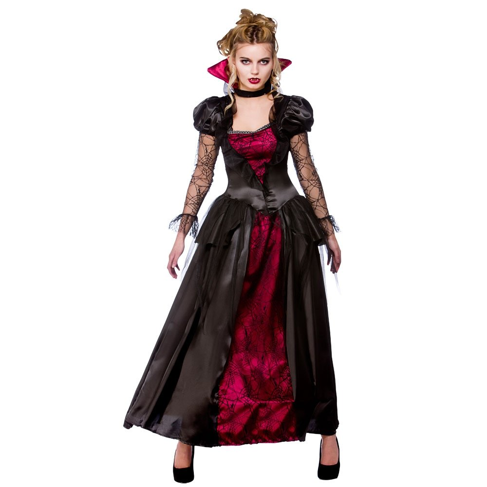 Ladies-Halloween-V&ire-Queen-Sexy-Temptress-Gothic-Cape-  sc 1 st  eBay : dracula costumes for women  - Germanpascual.Com