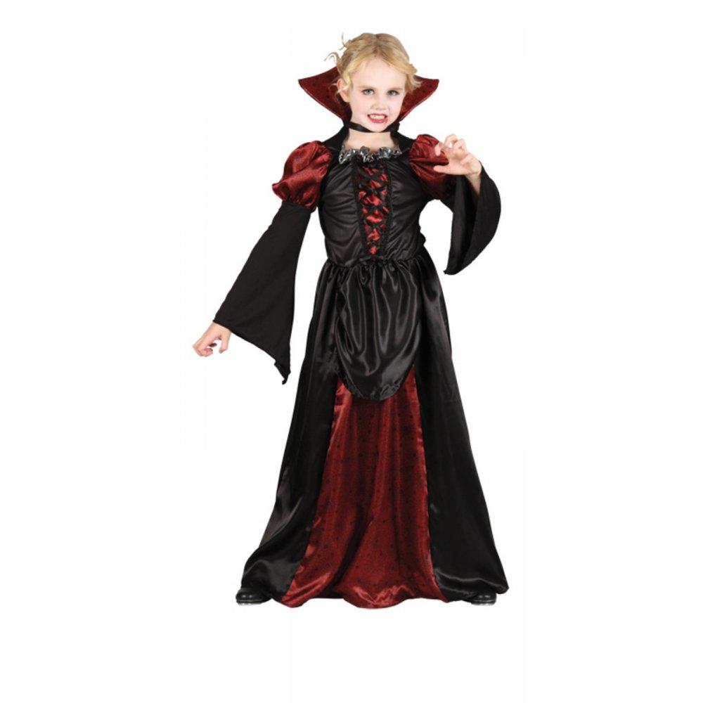 Deluxe Vampire Vampiress Queen Fairy Gothic Halloween Girls Fancy ...