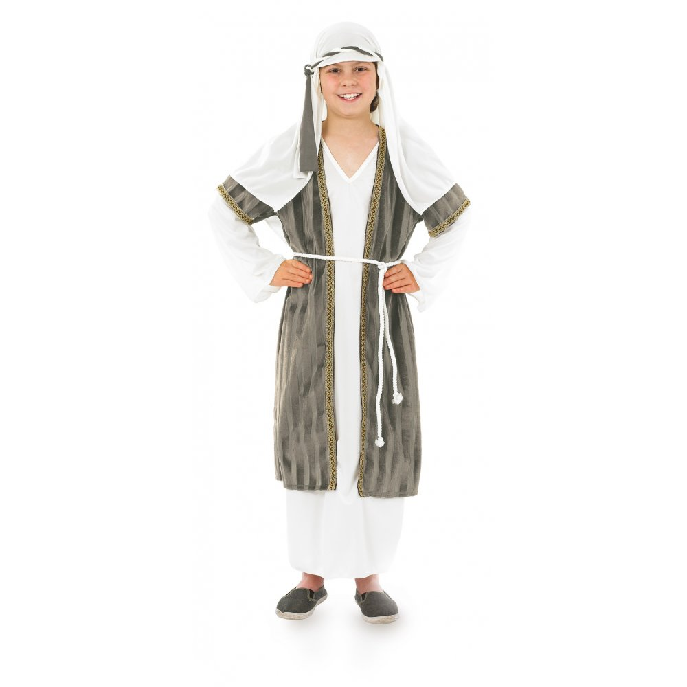 Christmas dress up - Kids Shepherd Joseph Nativity Christmas Boys Girls Fancy