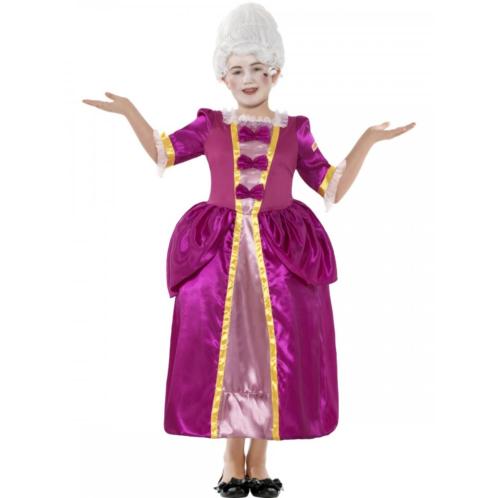 Horrible-Histories-Georgian-Lady-Historical-Renaissance-Kids-Fancy-Dress-Costume