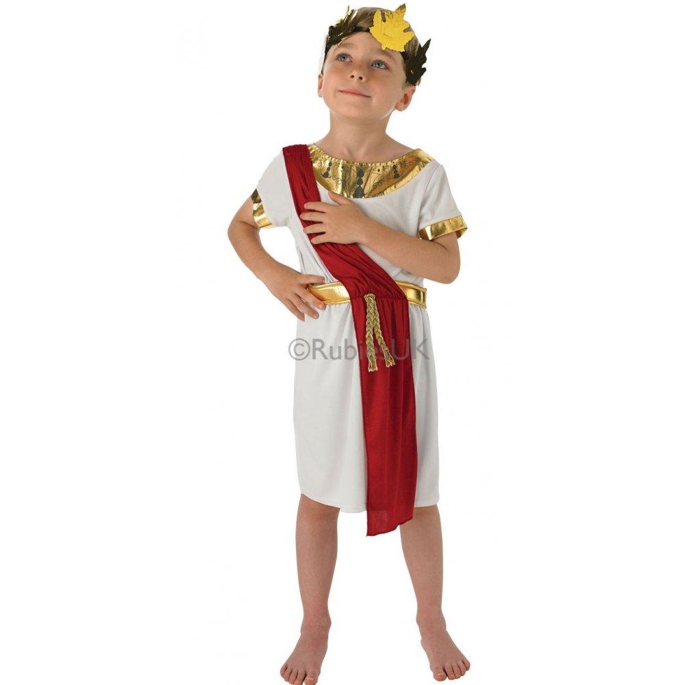 boys kids roman greek emperor gladiator warrior soldier fancy