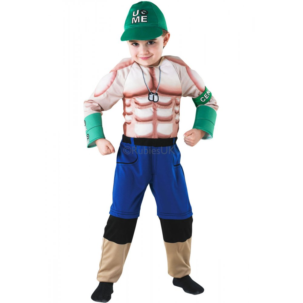 Christmas dress infant - John Cena Deluxe World Wrestling Entertainment Sport Kids Costume 3 8