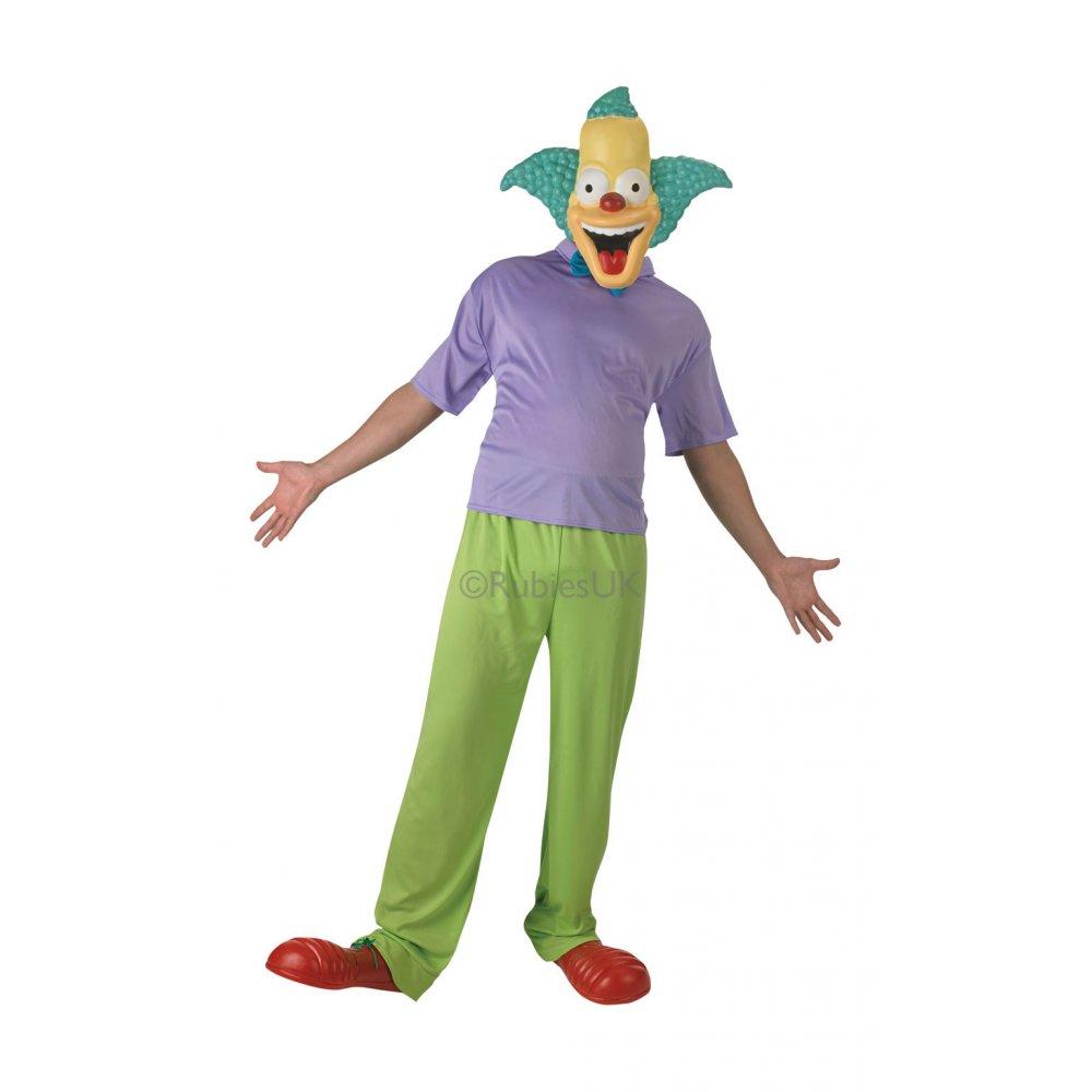 New the simpsons homer marge clown bart lisa cartoon tv - Clown simpson ...