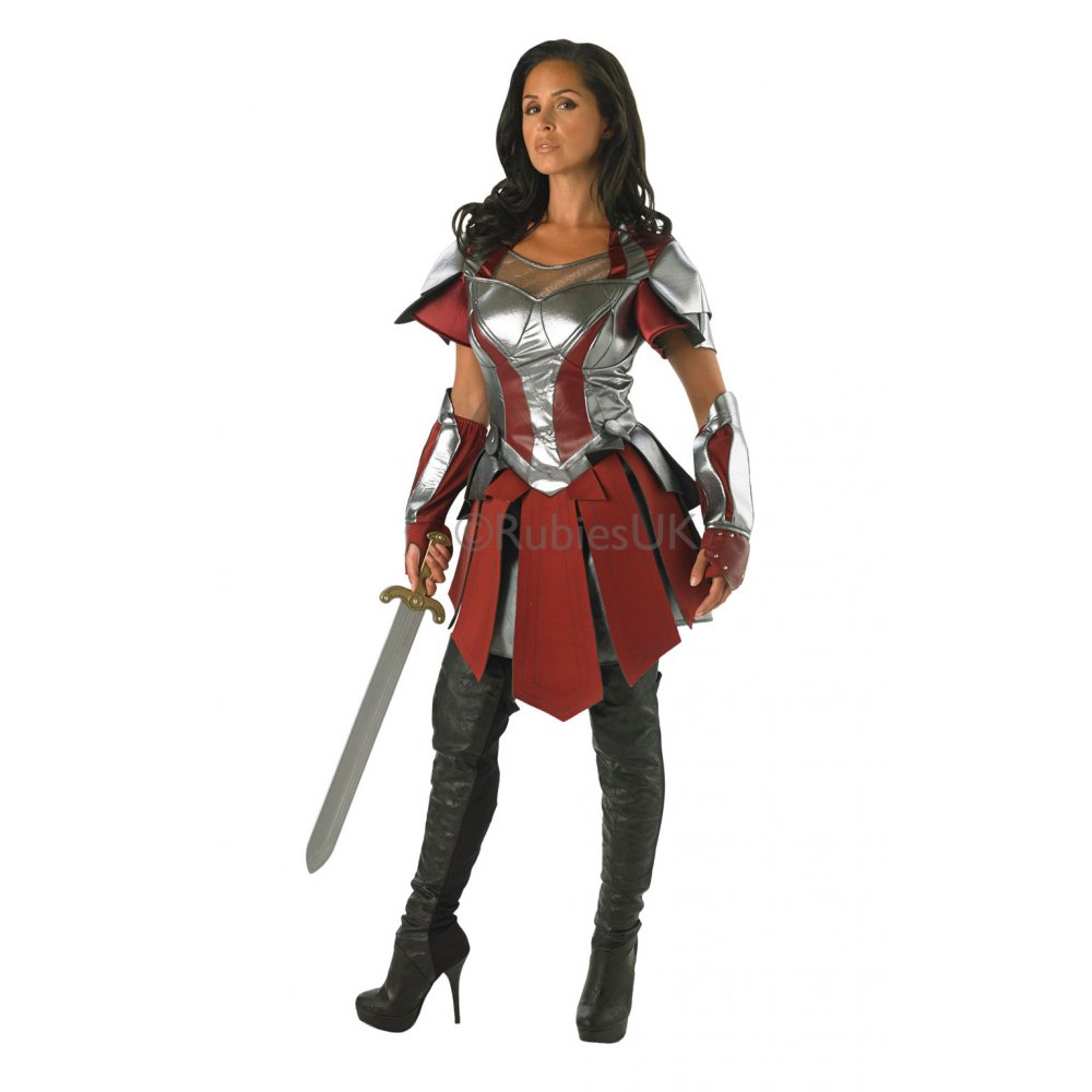 LADIES SIF THOR 2 DARK WORLD SUPERHERO AVENGERS FANCY ...