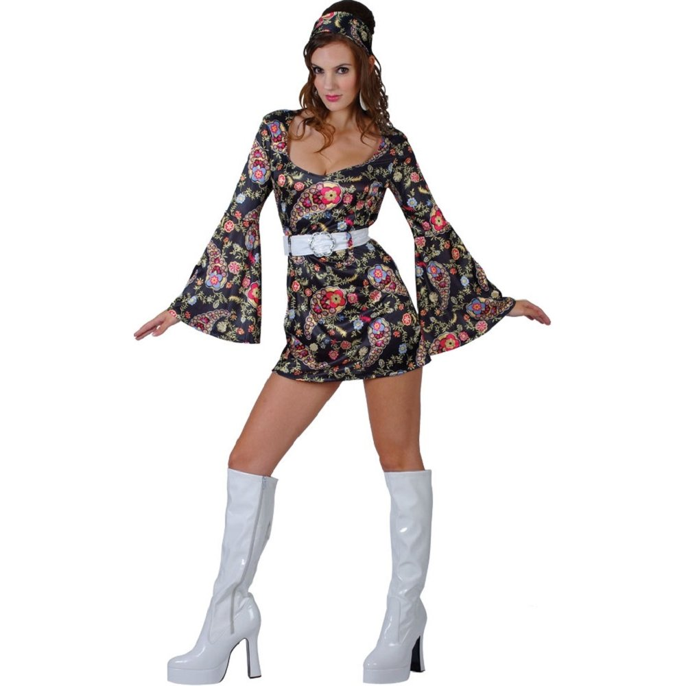 RETRO-60S-70S-HIPPY-HIPPIE-FANCY-DRESS-COSTUME-1960S-1970S-LADIES-WOMENS-MINI