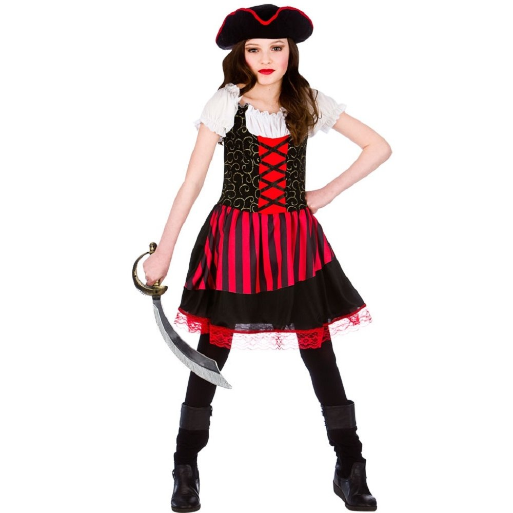 Pirate Captain Caribbean Book Day Kids Child Party Fancy
