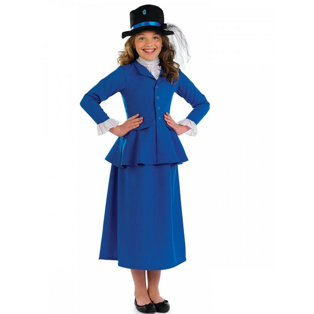 Blue dress character 13