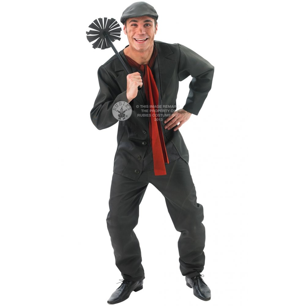 DISNEY-Bert-Chimney-Sweep-Mary-Poppins-Victorian-Edwardian-Dressing-Up-Costume