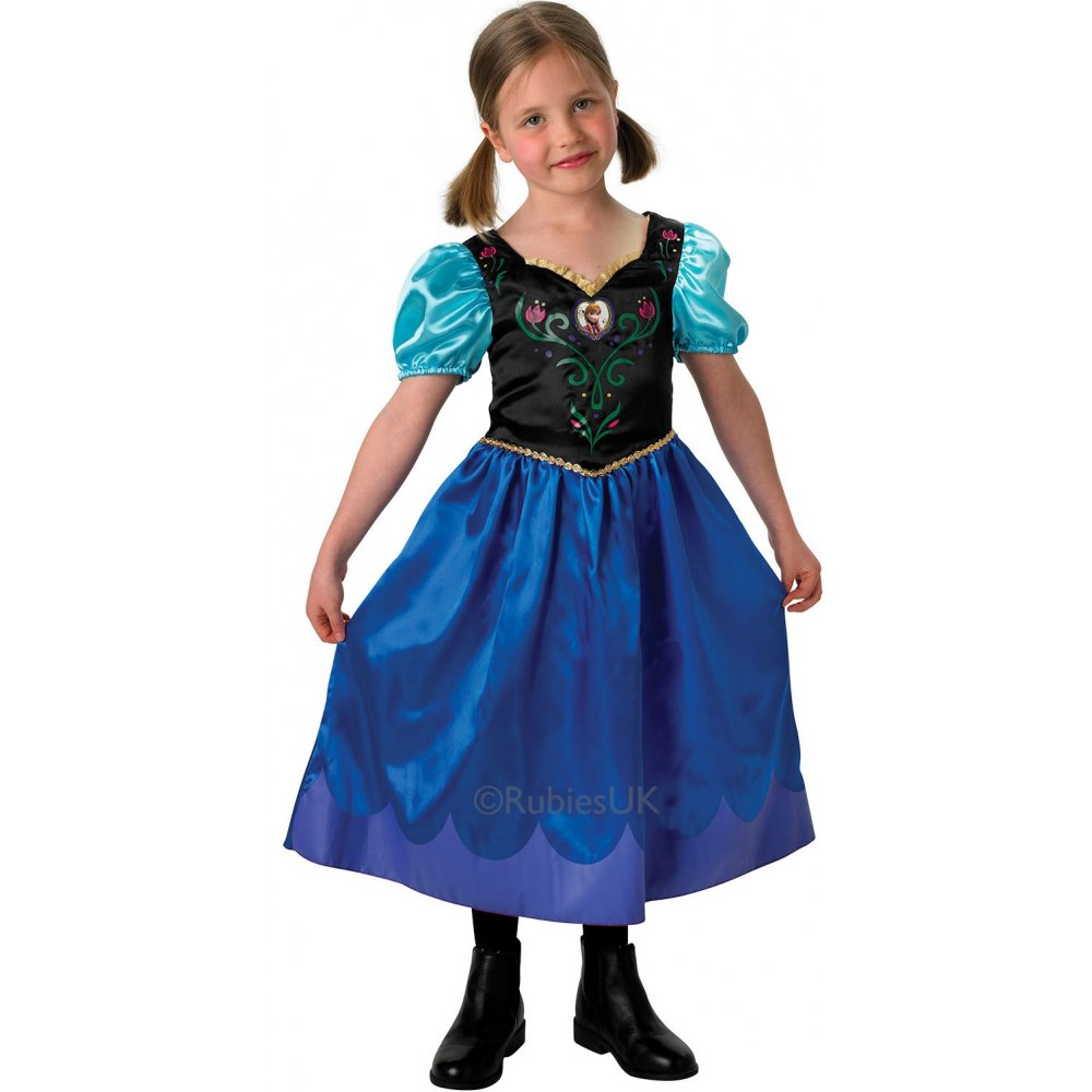 FROZEN-ELSA-ANNA-DISNEY-PRINCESS-SNOW-QUEEN-LICENSED-FANCY-DRESS-COSTUME-PARTY