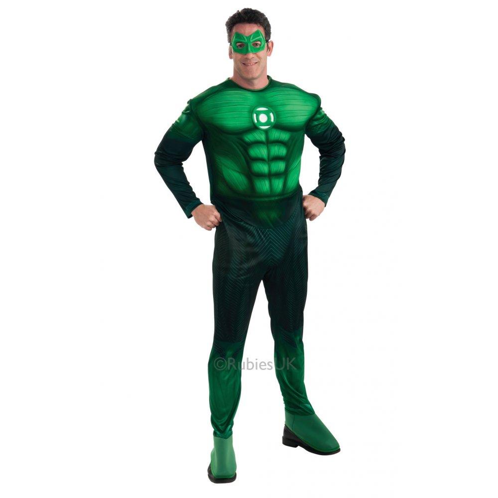 DELUXE ADULT MENS MUSCLE CHEST SUPERHEROES SUPERHERO MOVIE ...