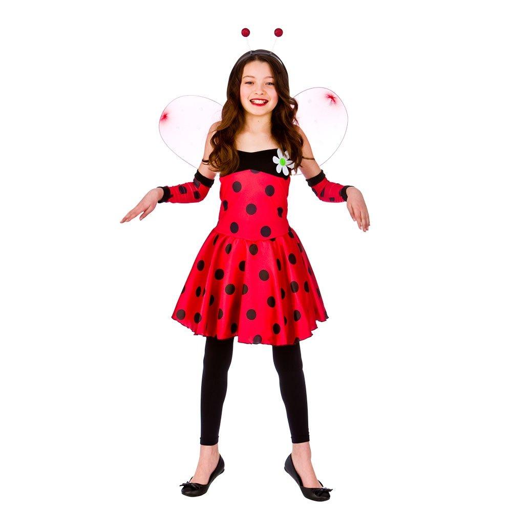 Kids girls ladybird ladybug insect headband tights wings fancy kids girls ladybird ladybug insect headband tights wings solutioingenieria Choice Image