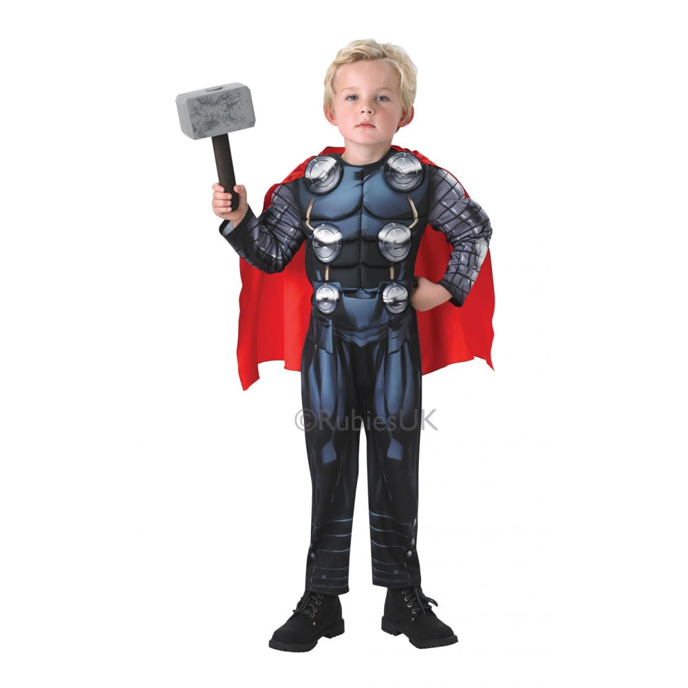 BOYS AVENGERS ASSEMBLE AGE OF ULTRON MARVEL SUPERHERO KIDS FANCY ...