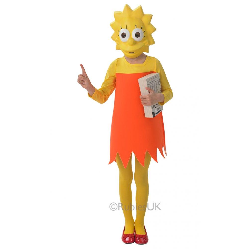 New the simpsons homer marge clown bart lisa cartoon tv film fancy dress costume ebay - Marge simpson et bart ...