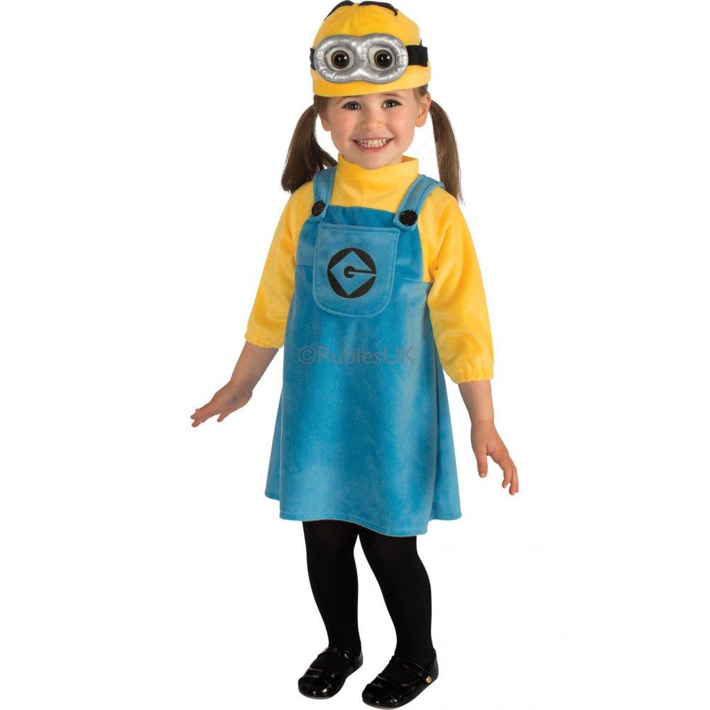 Kids Boys Girls Official Despicable Me Minion Fancy Dress Up ...