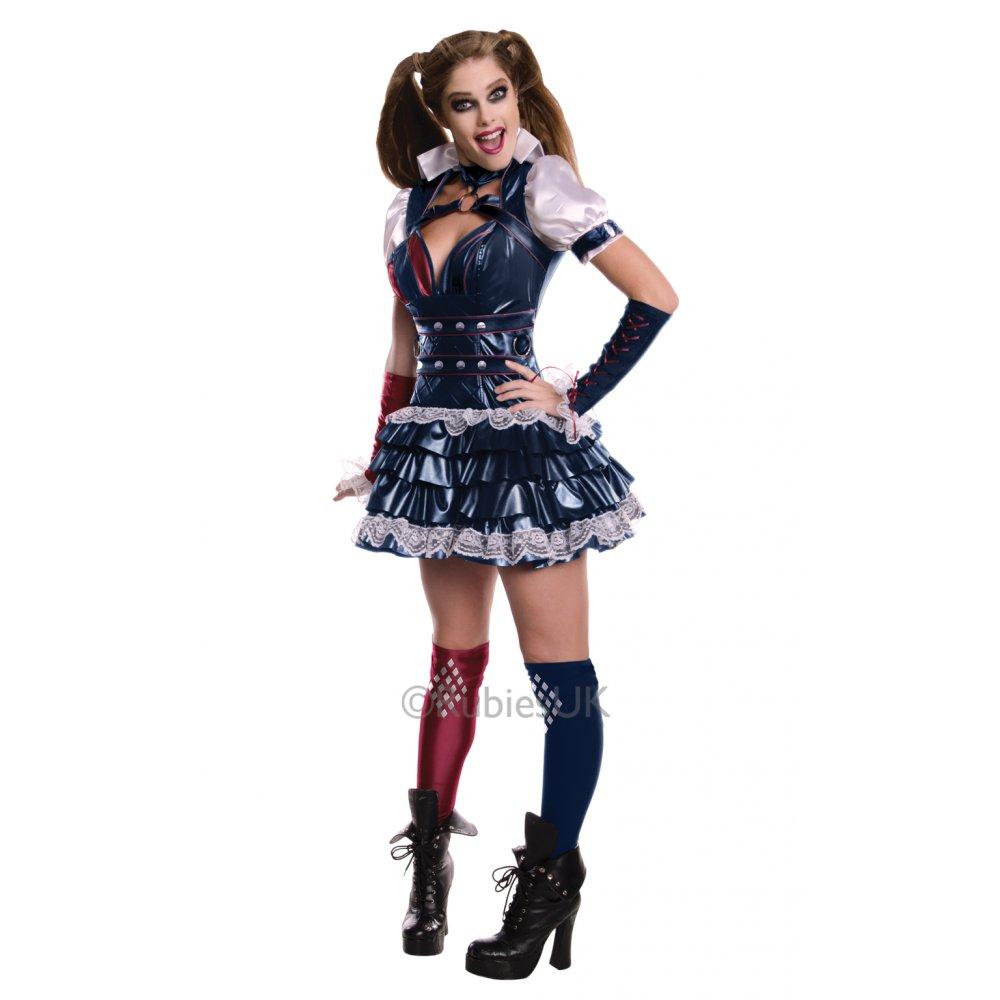 Deluxe-Joker-Harley-Quinn-Batman-Halloween-Adult-Mens-  sc 1 st  eBay & Deluxe Joker Harley Quinn Batman Halloween Adult Mens Ladies Fancy ...